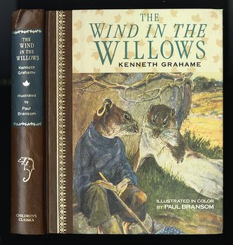 Vintage Illustrated Book the Wind in the Willows by Kenneth Grahame C1987 #PtLzGHEAMyM