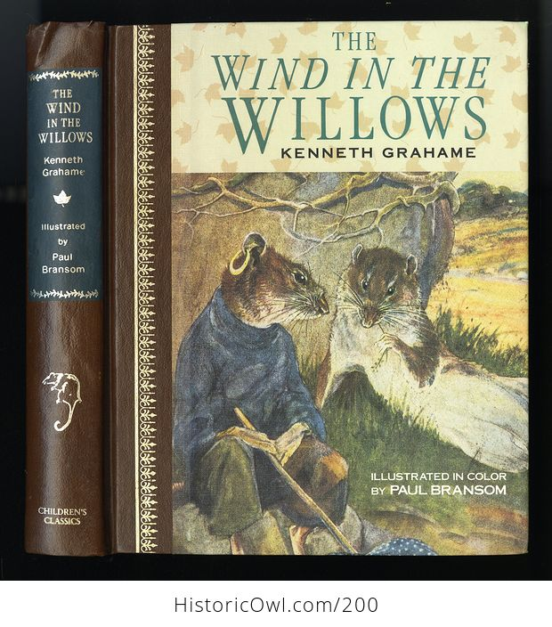 Vintage Illustrated Book the Wind in the Willows by Kenneth Grahame C1987 - #PtLzGHEAMyM-1