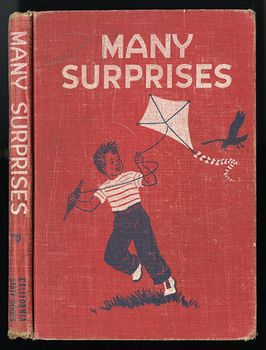 Vintage Illustrated Childrens Book Many Surprises by Guy Bond Grace Dorsey Marie Cuddy and Kathleen Wise C1954 #E2TcuGQe1vw