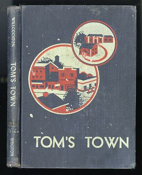 Vintage Illustrated Childrens Book Toms Town by Mary Wilcockson C1950 #Lbfca50gQoA