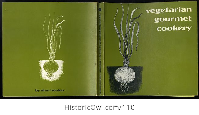 Vintage Illustrated Cook Book Vegetarian Gourmet Cookery by Alan Hooker C1973 - #5eljQSiexsA-6