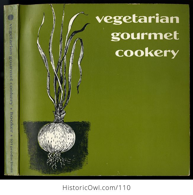 Vintage Illustrated Cook Book Vegetarian Gourmet Cookery by Alan Hooker C1973 - #5eljQSiexsA-1