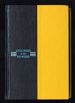 Vintage Little House in the Big Woods Illustrated Book by Laura Ingalls Wilder Harper and Row C1953 #PauSUXRFLGw