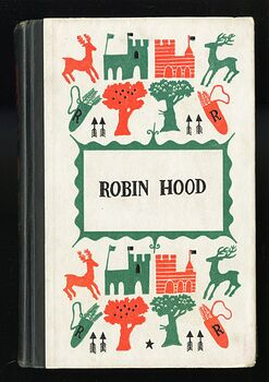 Vintage Robin Hood Illustrated Book by Howard Pyle Junior Deluxe Editions C1950s #G2CKs5Ai2wI
