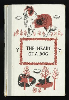 Vintage the Heart of a Dog Illustrated Book by Albert Payson Terhune Junior Deluxe Editions C1957 #7aaeSWK3Llw