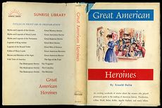 Vintage Women in Us History Book Great American Heroines by Arnold Dolin C1960 #ZOlHQkssWUI