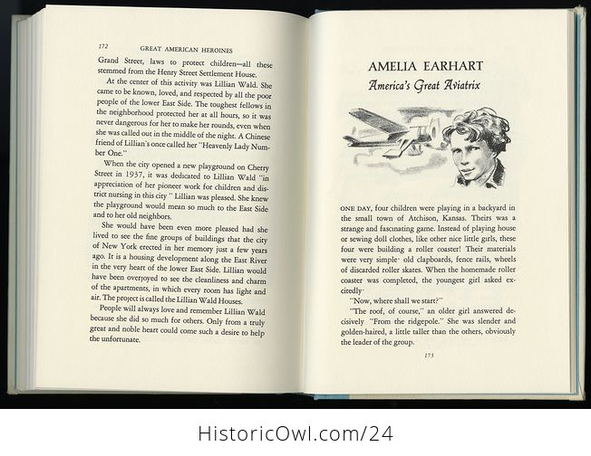 Vintage Women in Us History Book Great American Heroines by Arnold Dolin C1960 - #ZOlHQkssWUI-4