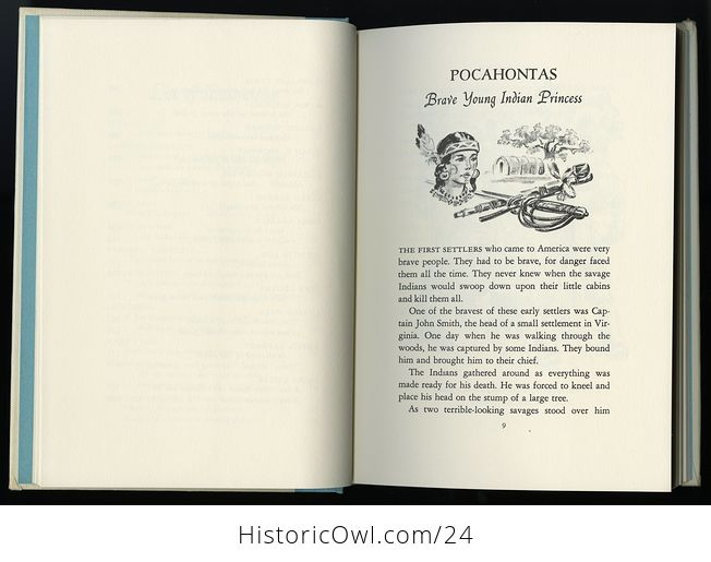 Vintage Women in Us History Book Great American Heroines by Arnold Dolin C1960 - #ZOlHQkssWUI-8