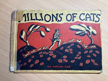Well Loved Millions of Cats Book by Wanda Gag C1928 #pcMWOyNQHnE