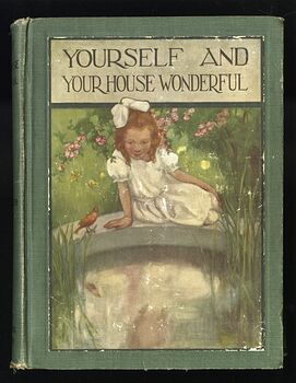Yourself and Your House Wonderful Antique Illustrated Book by H a Guerber C1913 #FXubTn939jg